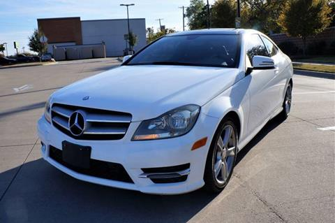 2013 Mercedes-Benz C-Class for sale at International Auto Sales in Garland TX