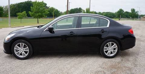 2011 Infiniti G25 Sedan for sale in Garland, TX