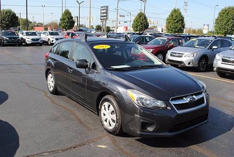 2012 Subaru Impreza for sale in Mishawaka IN