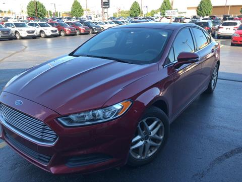 2013 Ford Fusion for sale in Mishawaka IN
