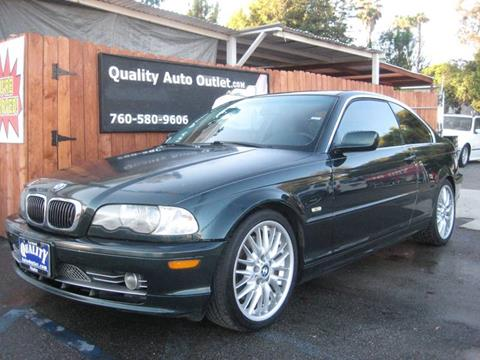2002 BMW 3 Series for sale at Quality Auto Outlet in Vista CA