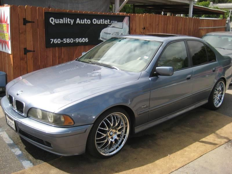 2001 BMW 5 Series 530i In Vista CA - Quality Auto Outlet