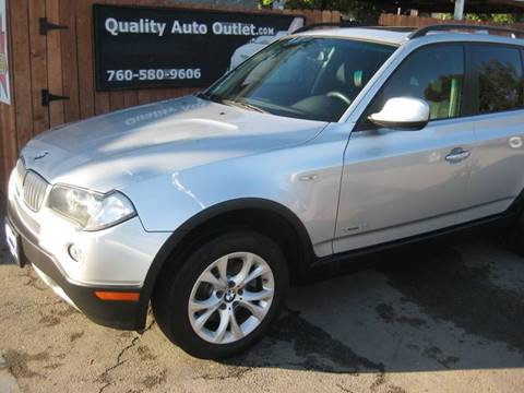 2010 BMW X3 for sale at Quality Auto Outlet in Vista CA