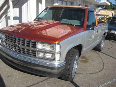 1992 Chevrolet C/K 1500 Series for sale at Quality Auto Outlet in Vista CA