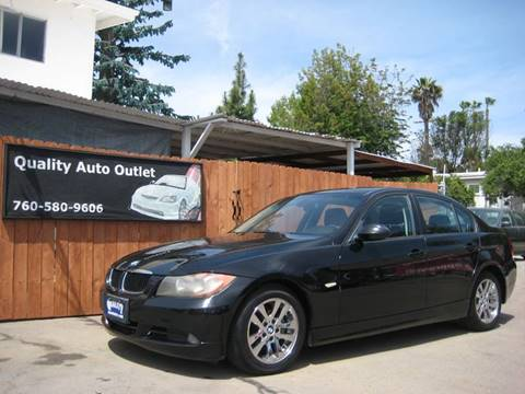 2007 BMW 3 Series for sale at Quality Auto Outlet in Vista CA