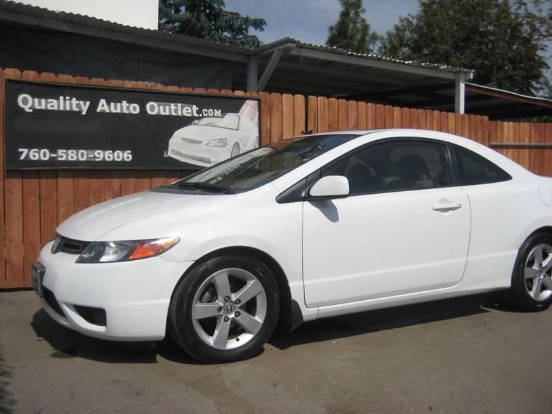 2007 Honda Civic EX In Vista CA - Quality Auto Outlet