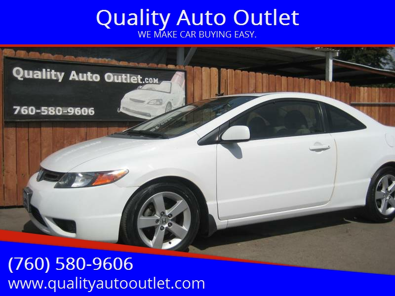 2007 Honda Civic For Sale At Quality Auto Outlet In Vista CA