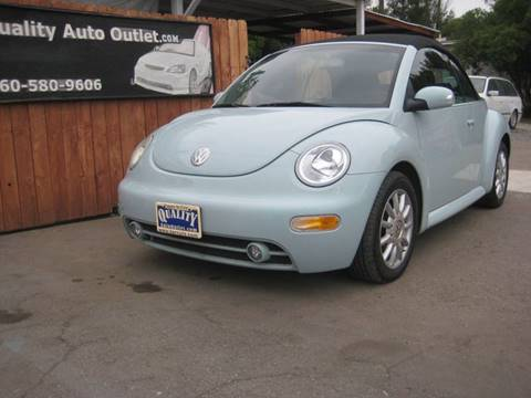 2005 Volkswagen New Beetle for sale at Quality Auto Outlet in Vista CA