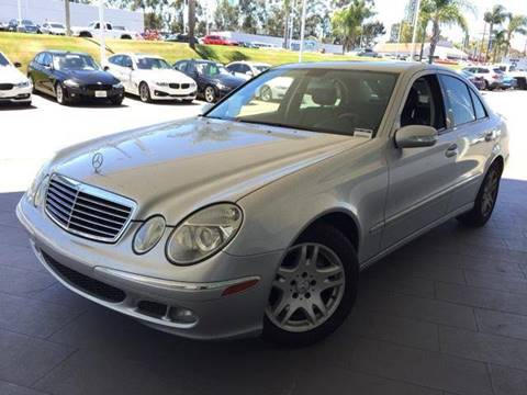 2006 Mercedes-Benz E-Class for sale at Quality Auto Outlet in Vista CA