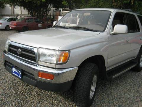 1998 Toyota 4Runner for sale at Quality Auto Outlet in Vista CA