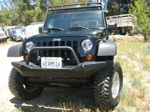 2008 Jeep Wrangler for sale at Quality Auto Outlet in Vista CA