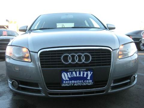 2005 Audi A4 for sale at Quality Auto Outlet in Vista CA