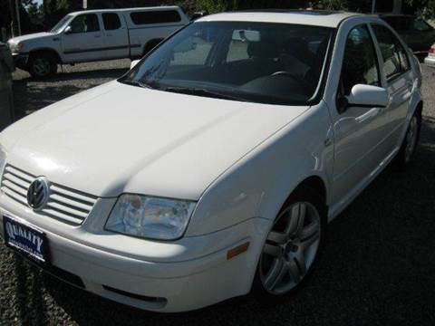 2003 Volkswagen Jetta for sale at Quality Auto Outlet in Vista CA