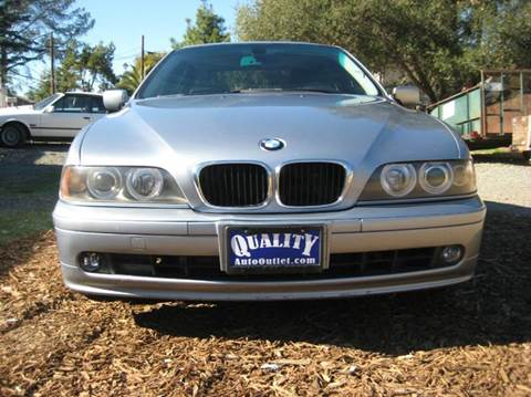 2002 BMW 5 Series for sale at Quality Auto Outlet in Vista CA