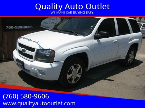 2007 Chevrolet TrailBlazer for sale at Quality Auto Outlet in Vista CA