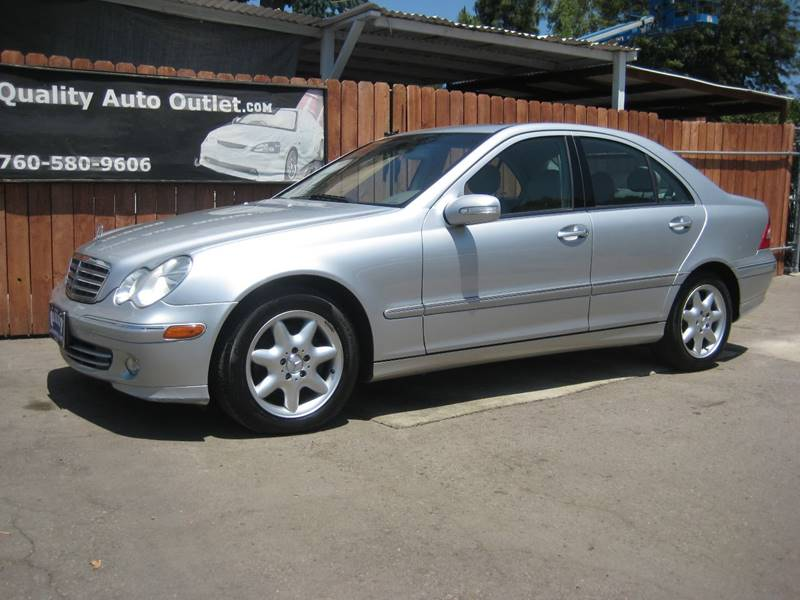2005 Mercedes-Benz C-Class for sale at Quality Auto Outlet in Vista CA
