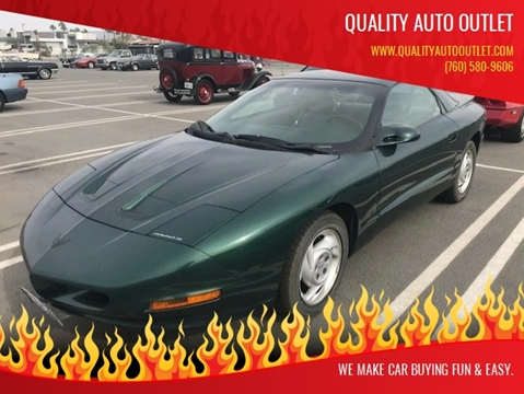 1994 Pontiac Firebird for sale in Vista, CA