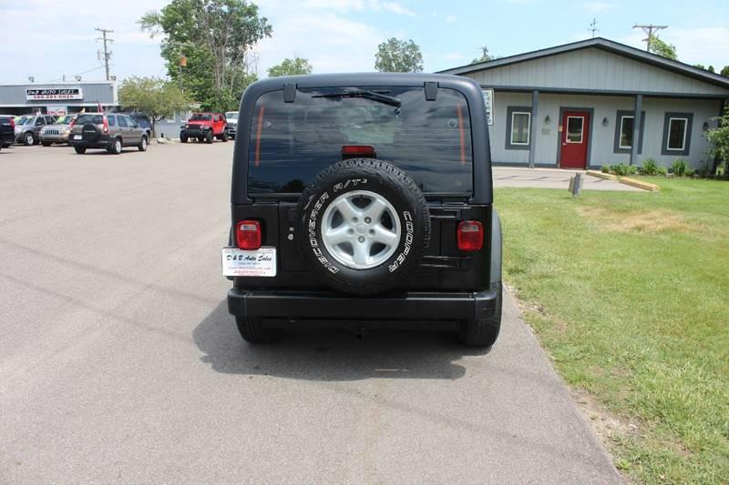 2004 Jeep Wrangler Sport 4WD 2dr SUV - Washington Township MI
