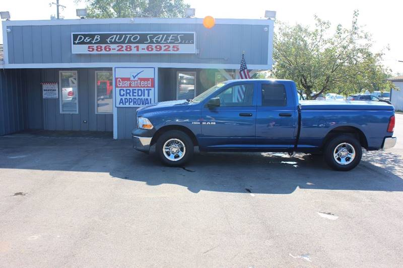 2010 Dodge Ram Pickup 1500 4x4 SLT Sport 4dr Quad Cab 6.3 ft. SB Pickup - Washington Township MI
