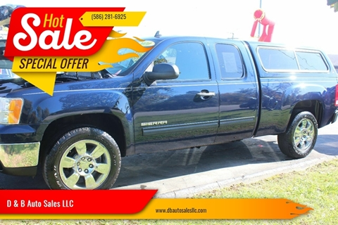 2010 GMC Sierra 1500 for sale in Washington Township, MI