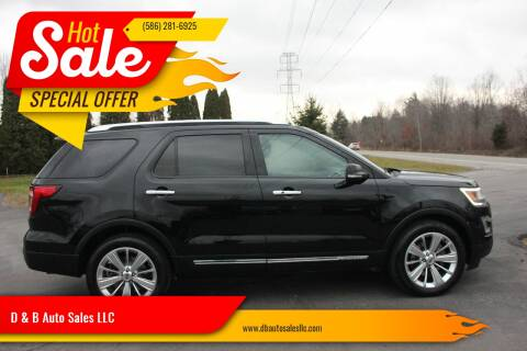 2016 Ford Explorer for sale in Washington Township, MI