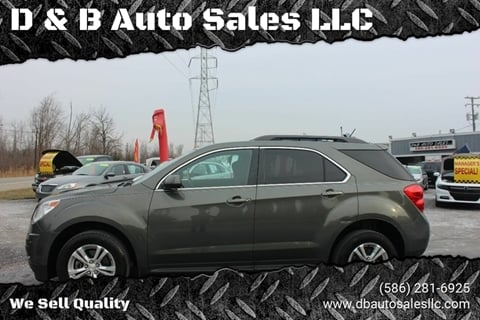 2013 Chevrolet Equinox for sale in Washington Township, MI