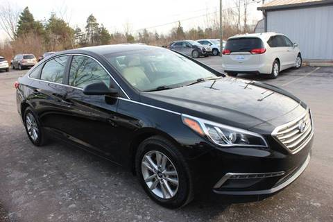 2015 Hyundai Sonata for sale at D & B Auto Sales LLC in Washington Township MI