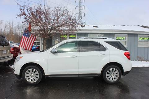 2011 Chevrolet Equinox for sale at D & B Auto Sales LLC in Washington Township MI