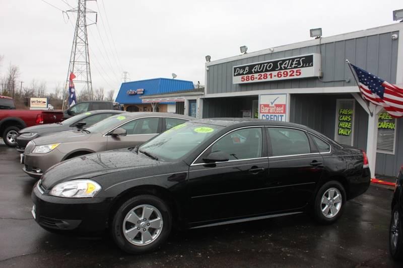 2010 Chevrolet Impala for sale at D & B Auto Sales LLC in Washington Township MI