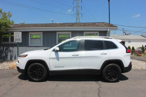 2016 Jeep Cherokee Latitude for sale at D & B Auto Sales LLC in Washington Township MI
