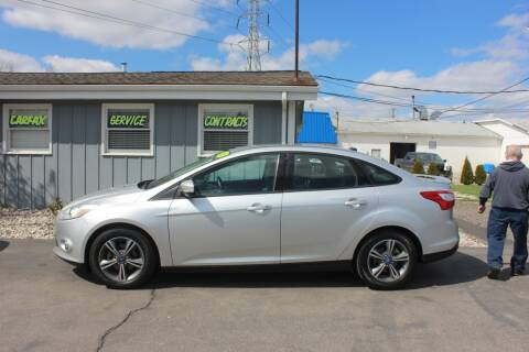 2012 Ford Focus for sale at D & B Auto Sales LLC in Washington Township MI