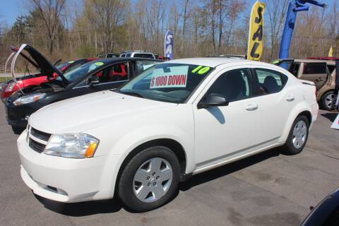 2010 Dodge Avenger for sale at D & B Auto Sales LLC in Washington Township MI