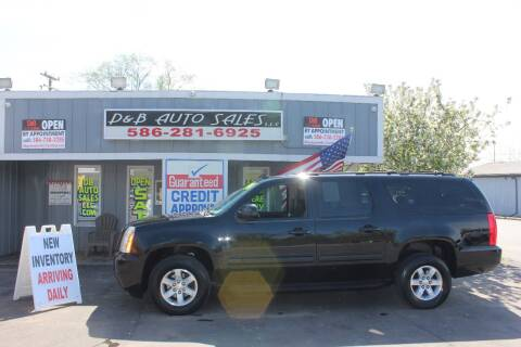 2014 GMC Yukon XL SLT 1500 for sale at D & B Auto Sales LLC in Washington Township MI