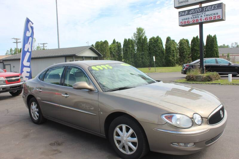 2006 Buick LaCrosse for sale at D & B Auto Sales LLC in Washington Township MI