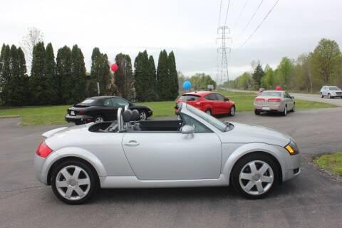 2001 Audi TT 180hp for sale at D & B Auto Sales LLC in Washington Township MI