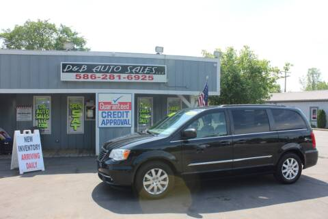 2014 Chrysler Town and Country for sale at D & B Auto Sales LLC in Washington Township MI