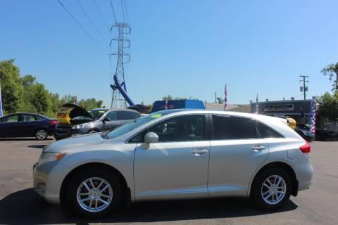 2011 Toyota Venza for sale at D & B Auto Sales LLC in Washington Township MI