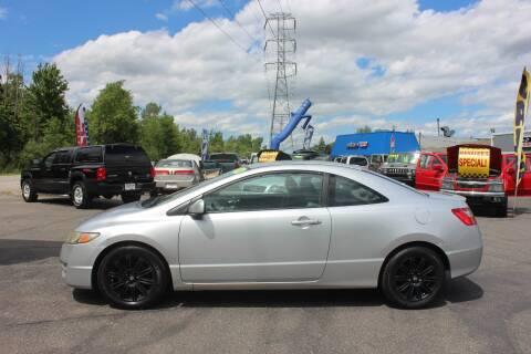 2010 Honda Civic for sale at D & B Auto Sales LLC in Washington Township MI
