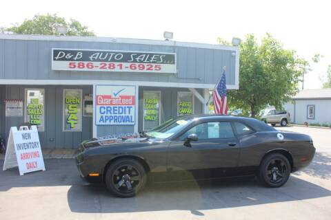 2012 Dodge Challenger for sale at D & B Auto Sales LLC in Washington Township MI