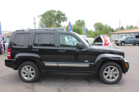 2012 Jeep Liberty for sale at D & B Auto Sales LLC in Washington Township MI