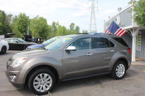 2010 Chevrolet Equinox for sale at D & B Auto Sales LLC in Washington Township MI