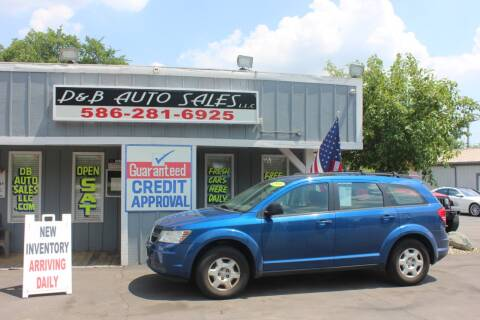 2009 Dodge Journey for sale at D & B Auto Sales LLC in Washington Township MI