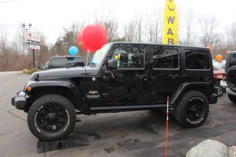 2014 Jeep Wrangler Unlimited for sale at D & B Auto Sales LLC in Washington Township MI