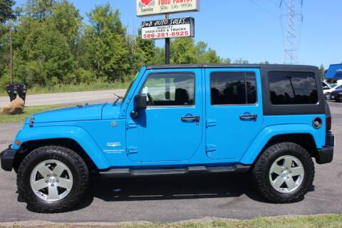 2011 Jeep Wrangler Unlimited for sale at D & B Auto Sales LLC in Washington Township MI