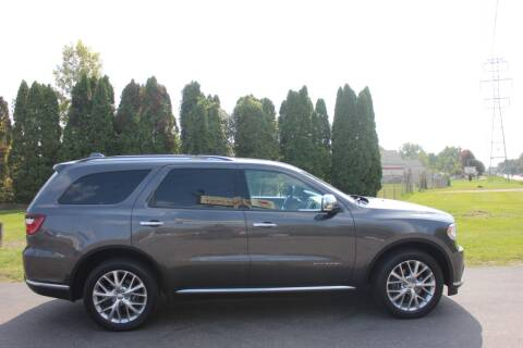 2015 Dodge Durango for sale at D & B Auto Sales LLC in Washington Township MI