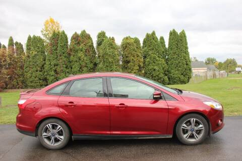 2014 Ford Focus for sale at D & B Auto Sales LLC in Washington Township MI