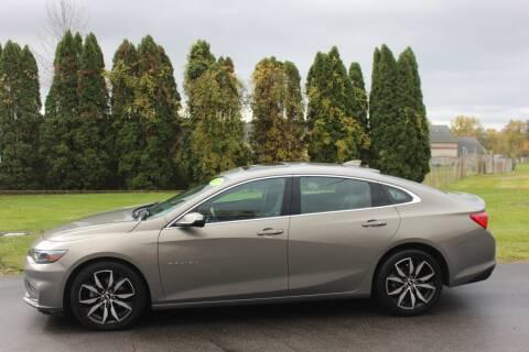 2017 Chevrolet Malibu for sale at D & B Auto Sales LLC in Washington Township MI