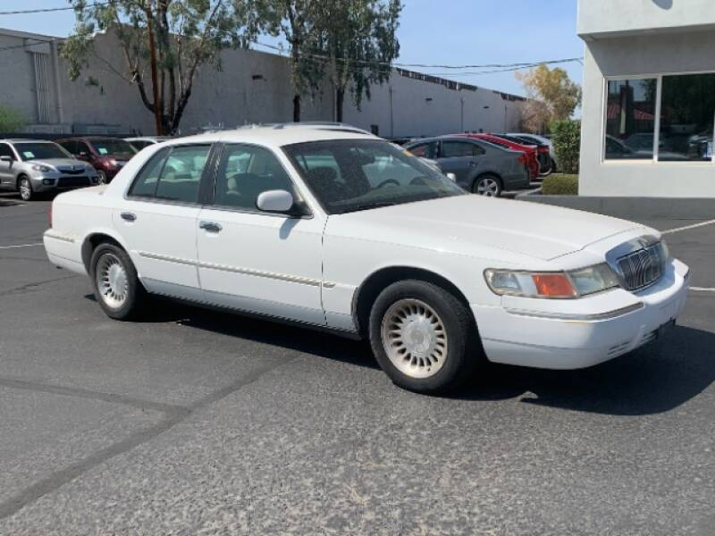 2001 Mercury Grand Marquis for sale at Brown & Brown Wholesale in Mesa AZ