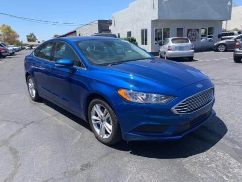 2018 Ford Fusion for sale at Brown & Brown Wholesale in Mesa AZ