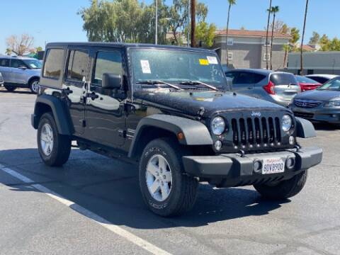 2018 Jeep Wrangler JK Unlimited for sale at Brown & Brown Wholesale in Mesa AZ